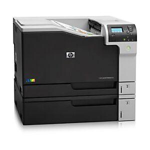 HP LaserJet M750N Colour Laser Printer A3  - Black/ Grey