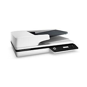 HP 3500 f1 Flatbed Scanner Grey  - Black/ White