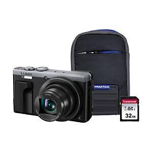 Panasonic Digital Camera Lumix DMC-TZ80 18.1 Megapixel Silver  - Silver