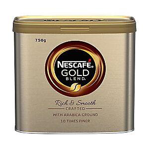 NESCAF� Gold Blend Rich & Smooth Instant Ground Coffee Tin 750g