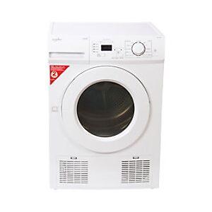 Satesman Statesman Condenser Tumble Dryer ZXC683W 2700W 8kg White  - White