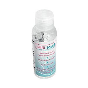 SANI-TOUCH Hand Sanitiser Gel Transparent 60 ml  - Transparent