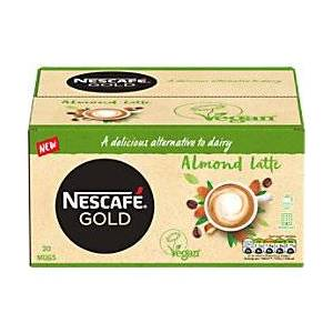 Nescaf� Instant Coffee Gold Almond Latte 30 Pieces of 16 g
