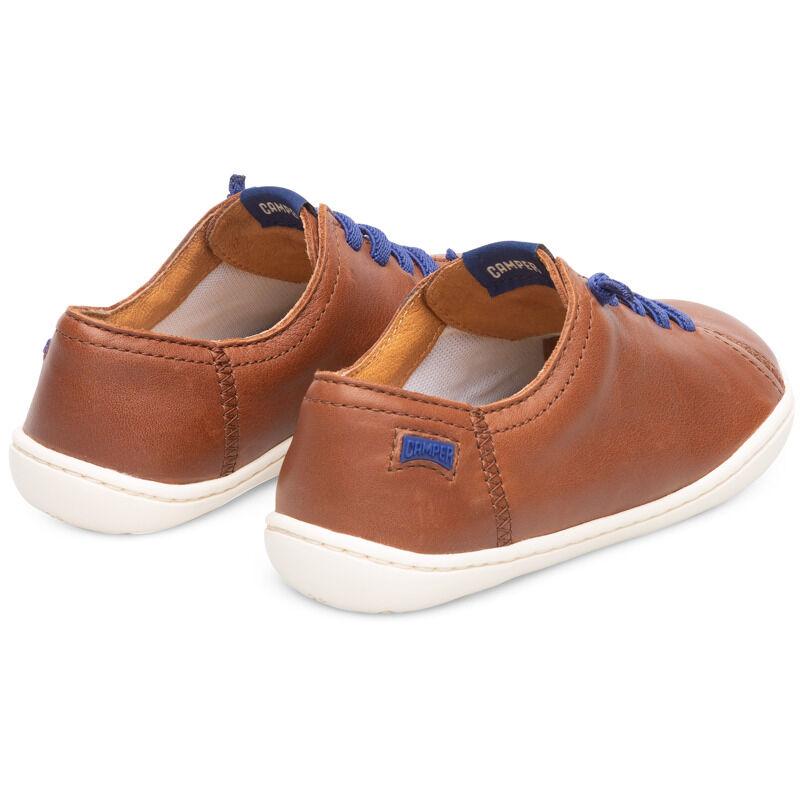 Camper Peu, Sneakers Kids, Brown , Size 33 (UK), 80003-115