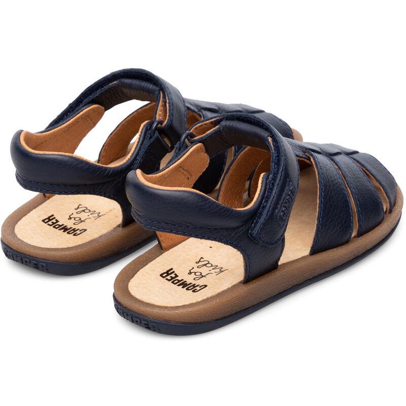 Camper Bicho, Sandals Kids, Blue , Size 35 (UK), 80177-052