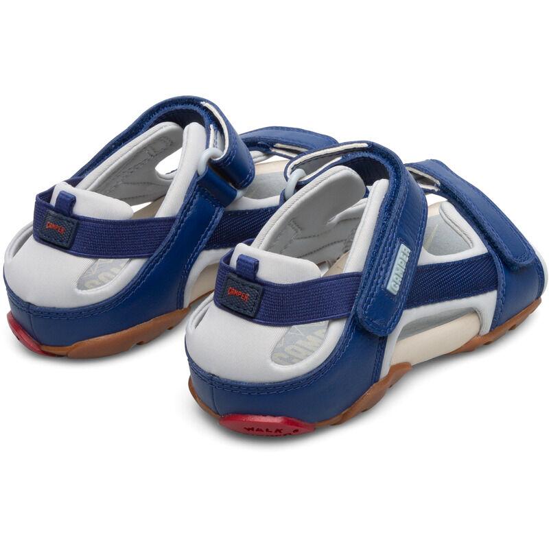 Camper Ous, Sandals Kids, Blue/Grey, Size 30 (UK), 80188-064