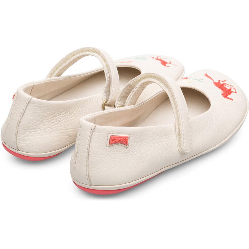 Camper Twins, Ballerinas Kids, Beige , Size 30 (UK), K800265-003