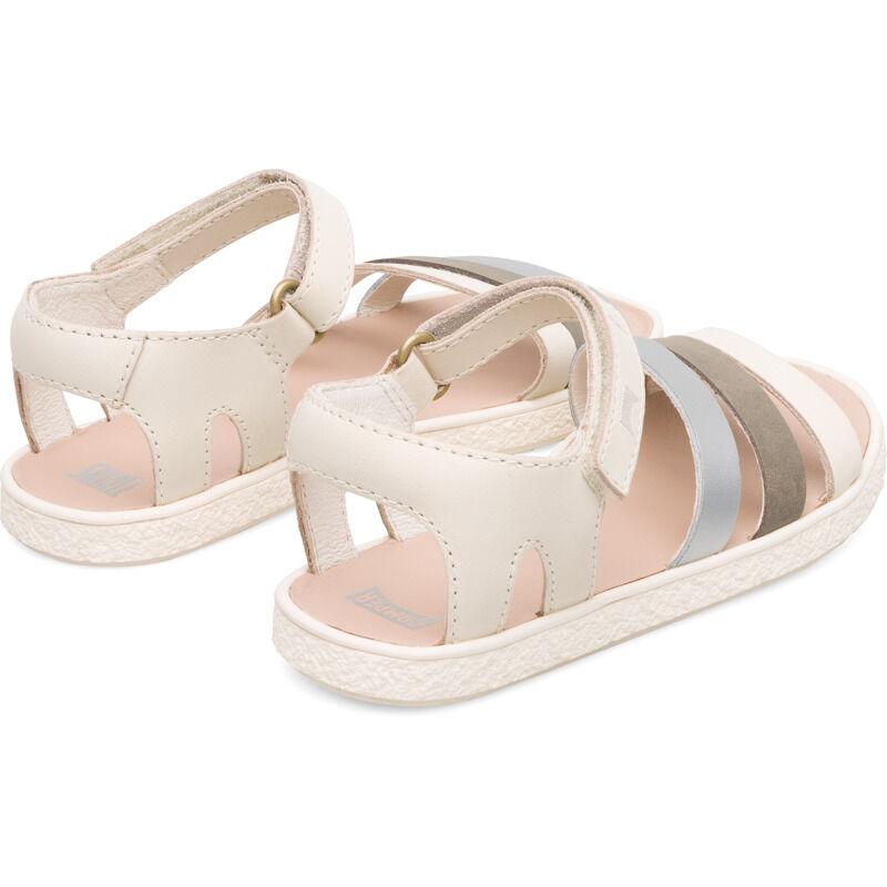 Camper Twins, Sandals Kids, Beige/Grey, Size 28 (UK), K800343-004