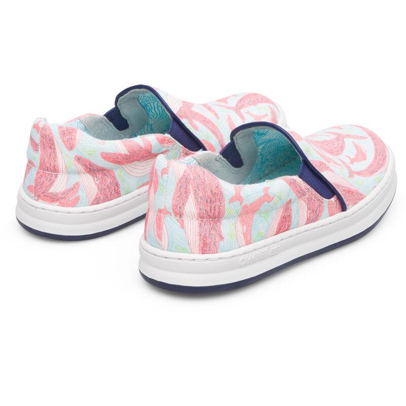 Camper Twins, Sneakers Kids, Blue/Red, Size 33 (UK), K800359-003