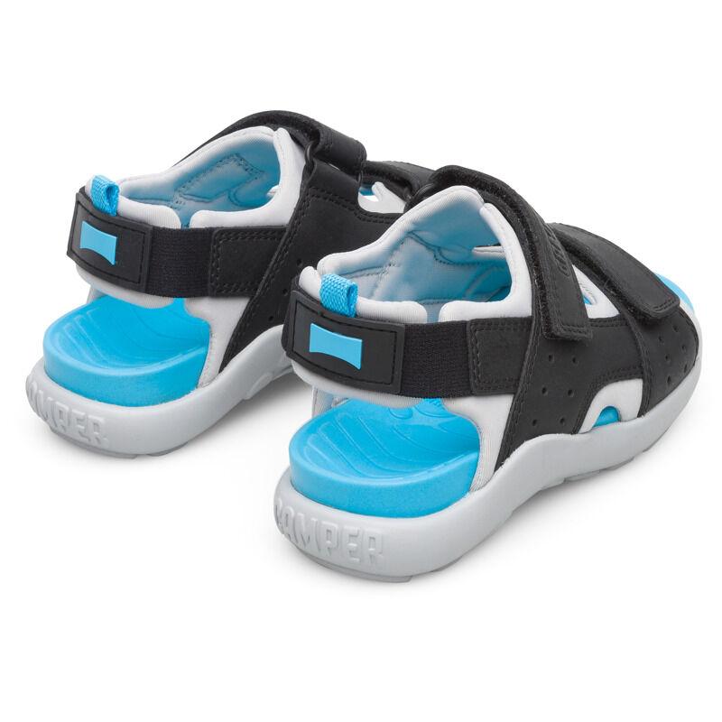 Camper Wous, Sandals Kids, Black/Grey, Size 37 (UK), K800361-002