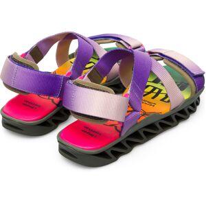 Camper LAB Bernhard willhelm, Sandals Men, Purple/Beige/Pink, Size 5,5 (UK), 19004-025