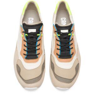 Camper Nothing, Sneakers Men, Beige/Black/Grey, Size 7 (UK), K100436-023