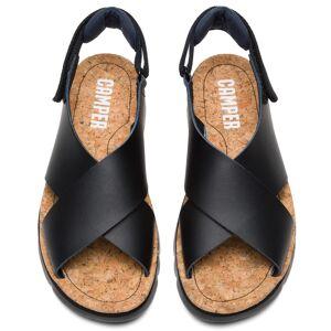Camper Oruga, Sandals Women, Black , Size 7 (UK), K200157-030