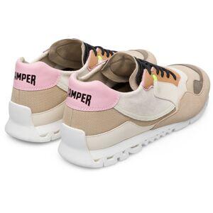 Camper Nothing, Sneakers Women, Beige/Black/Grey, Size 4 (UK), K200836-021