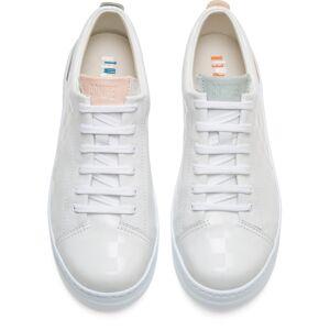 Camper Twins, Sneakers Women, White/Grey/Nude, Size 4 (UK), K201113-001