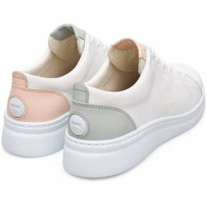 Camper Twins, Sneakers Women, White/Grey/Nude, Size 5 (UK), K201113-001