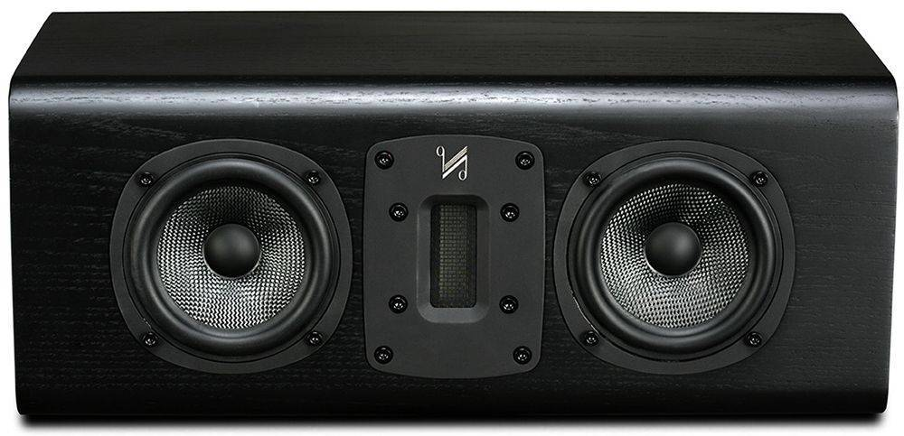 Quad S-C Centre Speaker Black Oak