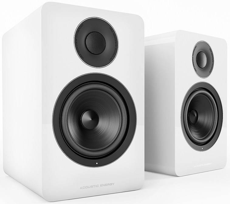 Acoustic Energy AE1 Active Speakers (Pair) Piano White