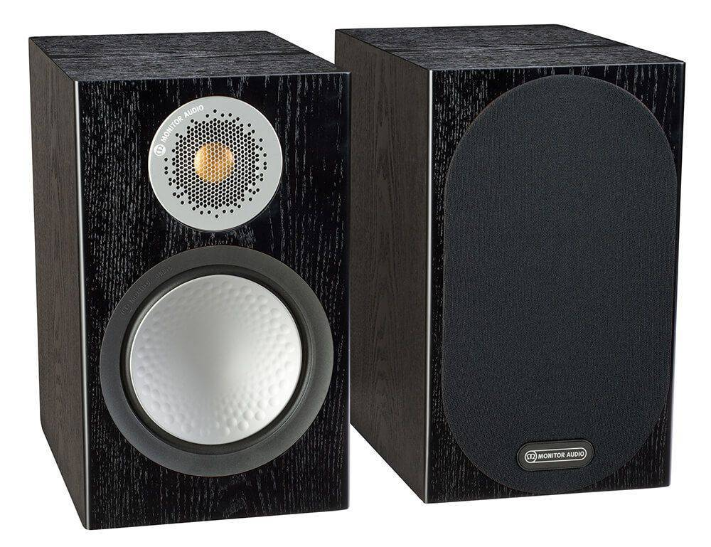 Monitor Audio Silver 50 Speakers Black Oak (Pair)