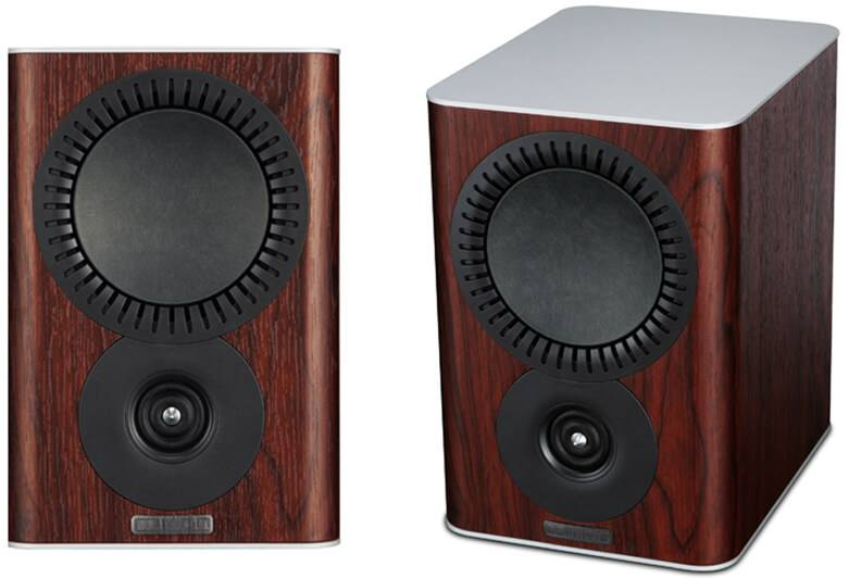 Mission QX-1 Bookshelf Speakers Rosewood