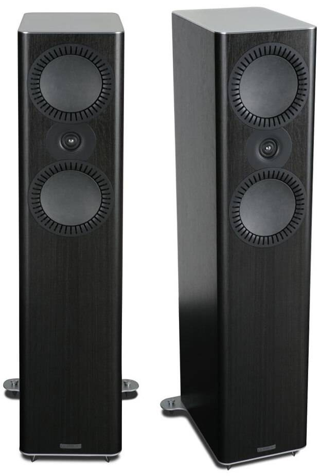 Mission QX-4 Floor Standing Speakers Black Wood