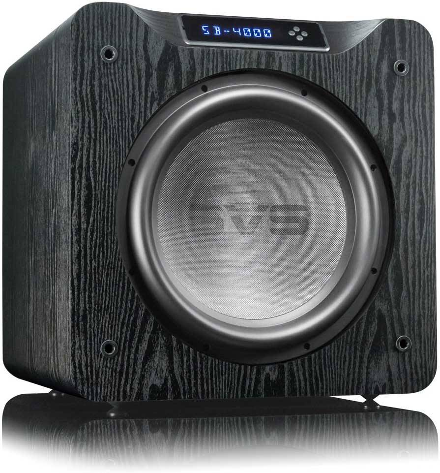 SVS SB4000 Subwoofer Black Oak