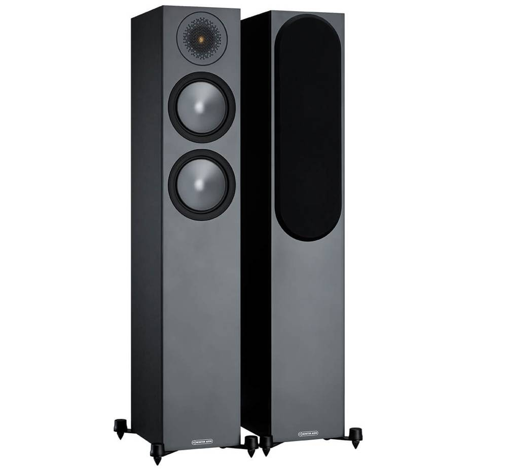Monitor Audio Bronze 200 6G Floor Standing Speakers Black