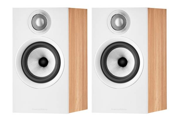 Bowers and Wilkins 607 S2 Anniversary Edition Speakers Oak