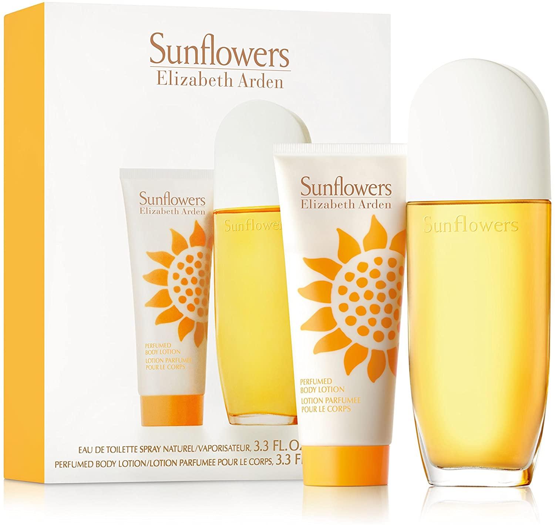 Elisabeth Arden Sunflowers by Elizabeth Arden Eau de Toilette Gift Set For Her - 100 ml