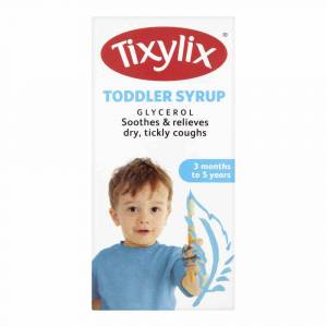 Tixylix Toddler Syrup For Dry Tickly Coughs – 100ml