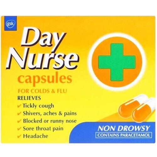 Day & Night Nurse Day Nurse Caps...