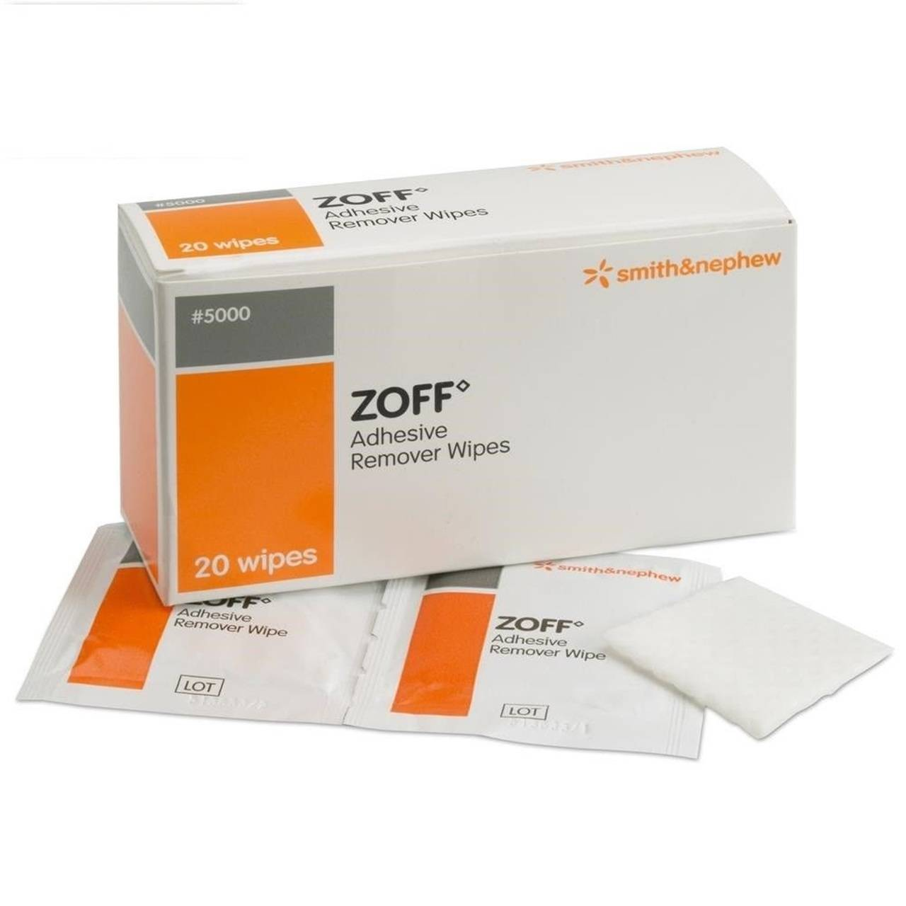 Zoff 20 Adhesive Remover Wipes