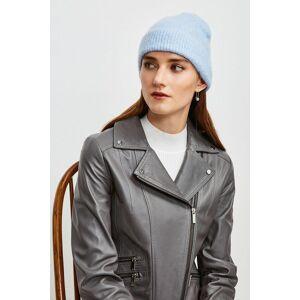 Karen Millen Super Soft And Cosy Hat -, Pale Blue  - Size: One Size
