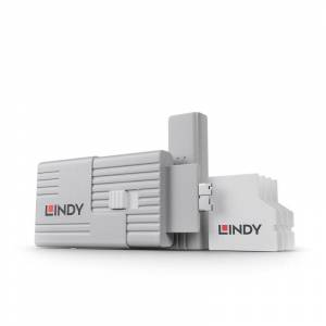 Lindy SD Port Blockers - Pack of 4 with 1 Key