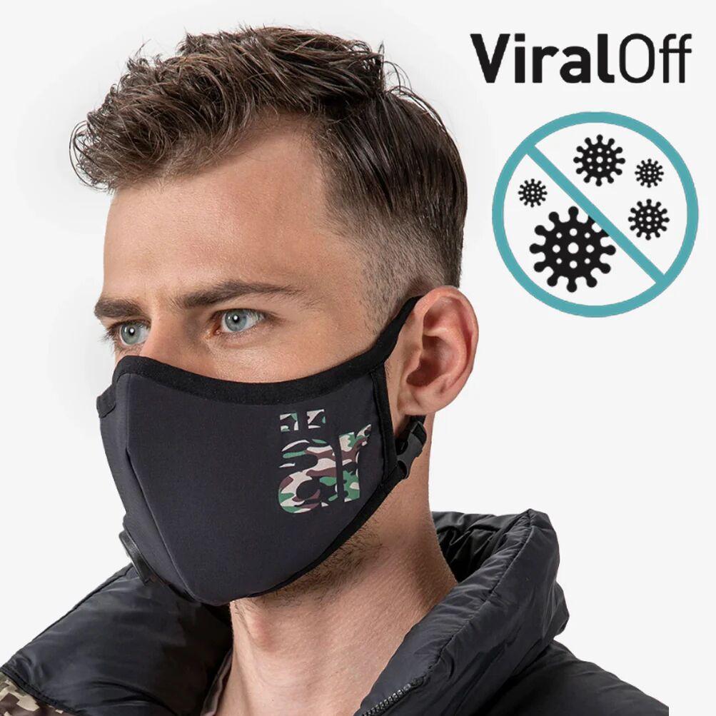 är face mask Self-cleaning Face Mask with Nano-Filter är Big logo Camouflage
