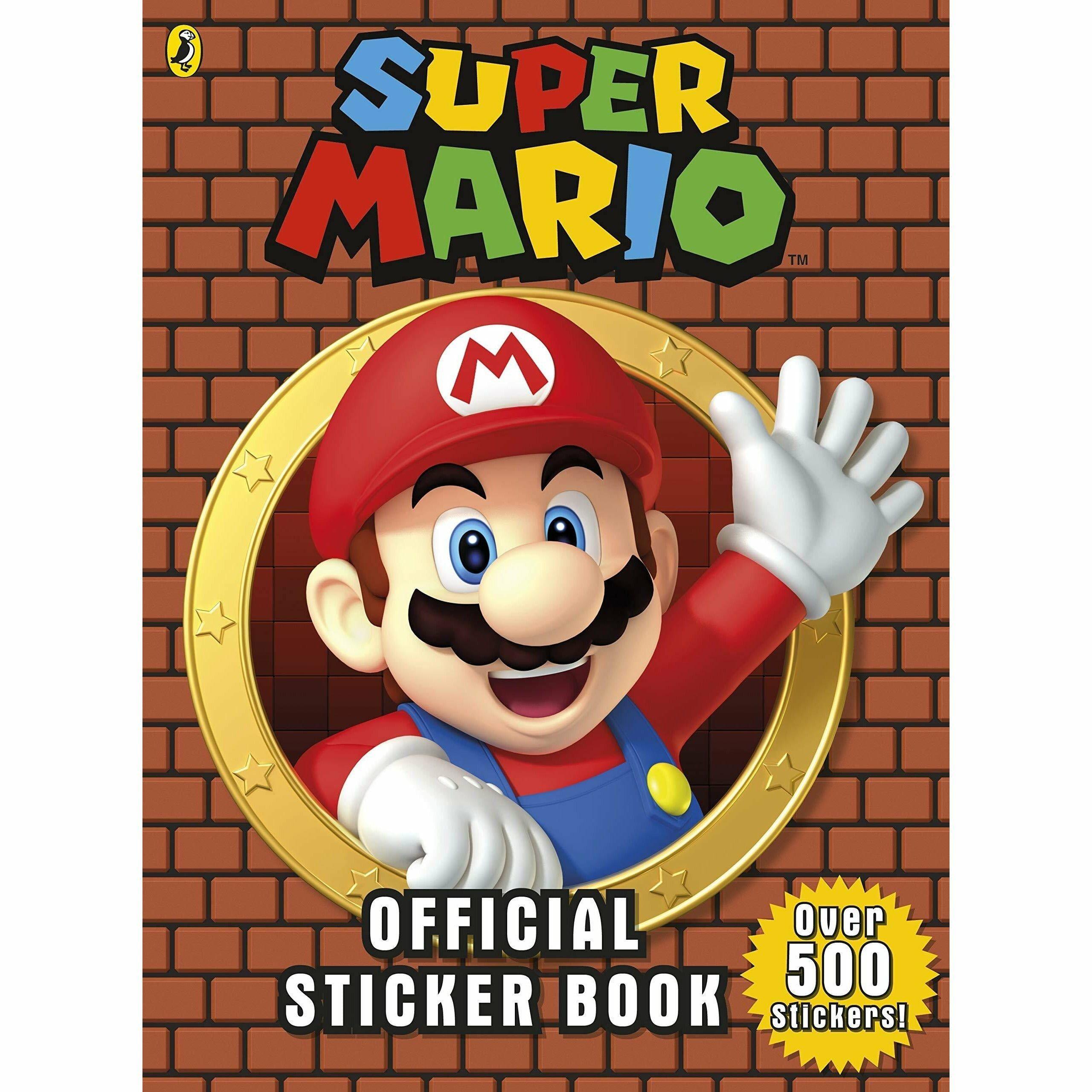 Puffin Super Mario: Official Sticker Book