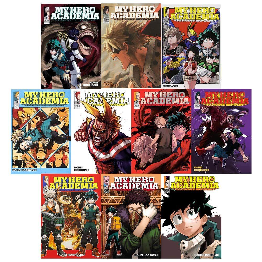 The Book Bundle My Hero Academia Vol 6-15 Kohei Horikoshi Collection 10 Books Bundle
