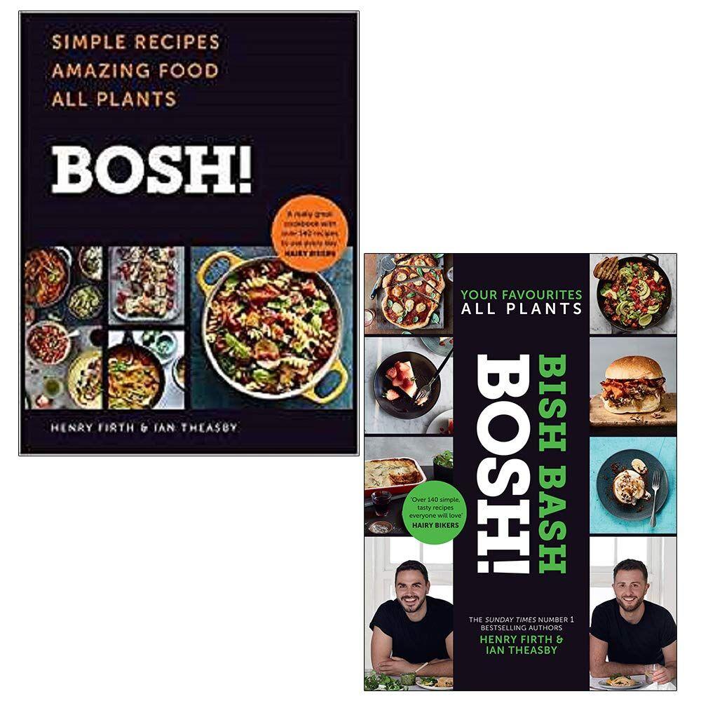 The Book Bundle BOSH 2 Books Collection Set (BOSH!: Simple Recipes. Amazing Food, BISH BASH BOSH!)