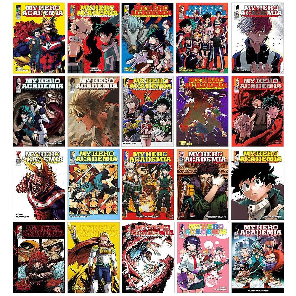 The Book Bundle My Hero Academia Series Volume 1 - 20 Books Collection Set by Kouhei Horikoshi