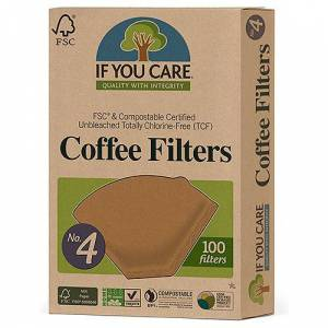 If You Care If-You-Care-Coffee-Filters-No4-Large-100-Filters