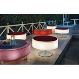 Modoluce Atollo Pouf Outdoor Floor Lamp by Modoluce Dia 70