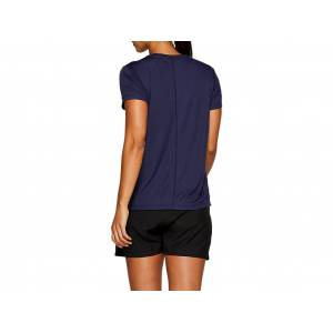 ASICS Silver Ss Top Peacoat FeMale Size XS