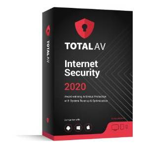 Total AV 2020, 80% Off Antivirus Software