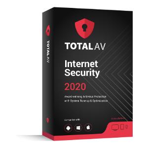 Total AV 2020, 80% Off Antivirus Software