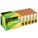 GP Ultra Alkaline AA LR6 Batteries   40 Pack