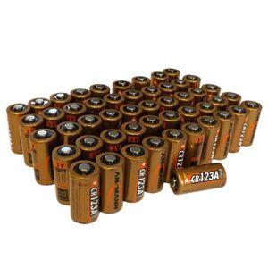 Ansmann Bulk CR123A Lithium Batteries   Box of 50