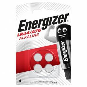 Energizer LR44 A76 Button Cell Batteries   4 Pack