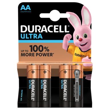 Duracell Ultra AA LR6 Batteries   4 Pack