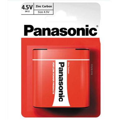 Panasonic Zinc 3LR12 4.5V Battery   1 Pack