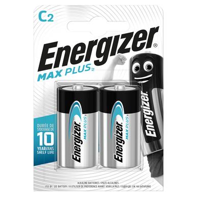 Energizer MaxPlus C LR14 Batteries   2 Pack